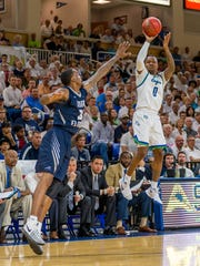 Since arriving at FGCU after two seasons at UCF, Brandon Goodwin has become an excellent shooter.