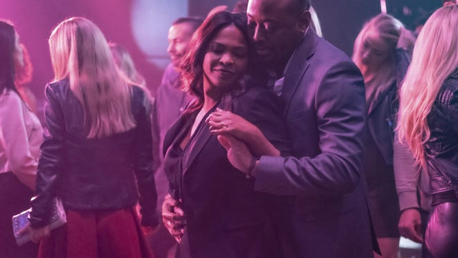 """Nia Long, left, and Omar Epps star in """"Fatal Affair."""""""