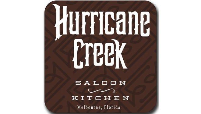 The Hurricane Creek Saloon logo.