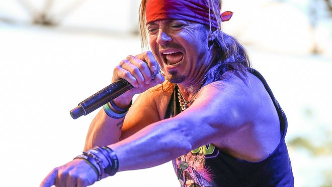 Bret Michaels will perform Aug. 7 at the Indiana State Fair.