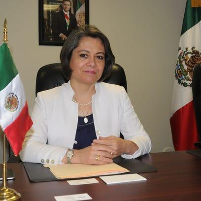 La nueva Cónsul General de México en Phoenix, Claudia