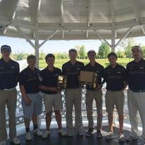 The Hartland boys golf team claimed second in the KLAA Association Tournament on Monday.