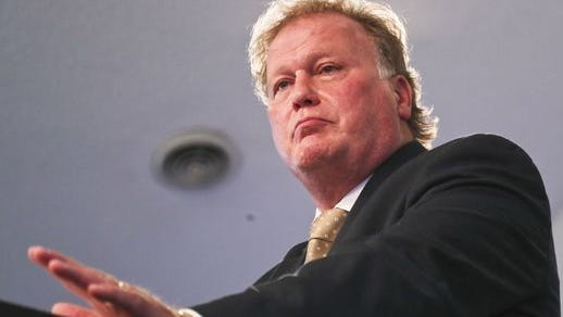 """""""The people who run for office are just people, and there are no perfect people,"""" said State Rep. Dan Johnson as he spoke to the media Tuesday morning from his Heart of Fire Church. """"I think there are people who have taken that and used it as political rocks to be thrown."""" Johnson said sexual abuse allegations made in an article published by the Kentucky Center for Investigative Reporting are """"without merit."""""""
