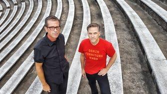 Calexico founders John Convertino and Joey Burns. Calexico will play the Van Buren in Phoenix on Friday, June 1.