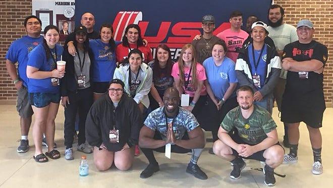 Angelo State University's Ram Powerlifting Club