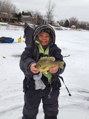 Dolores Jones caught-and-released this redear sunfish