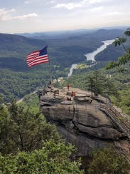 The Ecology of Chimney Rock hike explores the flora