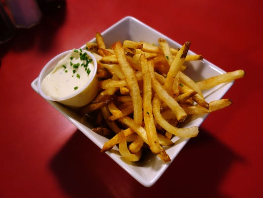 French Fries at Welcome Diner
