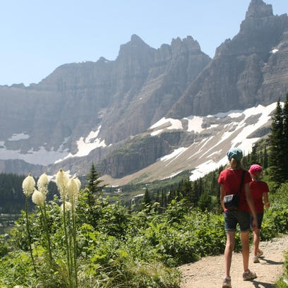 In 2012, the Thompson family went to Iceberg Lake for