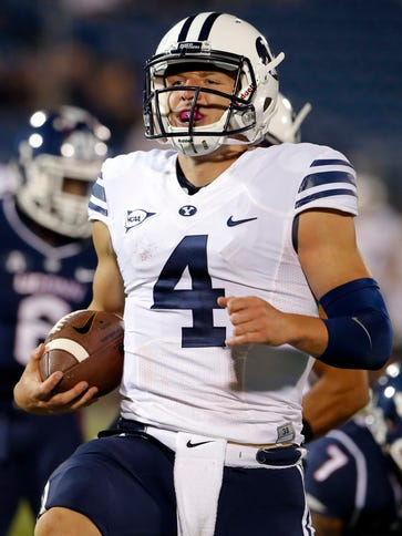BYU quarterback Taysom Hill  is highly effective as