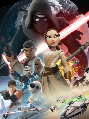 Disney Infinity 3.0 Star Wars: The Force Awakens Play Set.