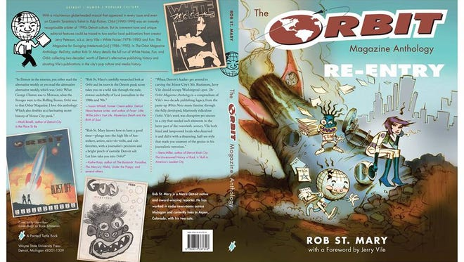 """The cover of """"The Orbit Magazine Anthology: Re-Entry"""" by Rob St. Mary."""