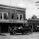 This is how the Webster Fire Hall looked in 1927.