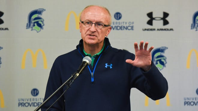 Dave Gantt is vice president for athletics at the University of Providence,