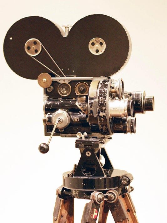 A personal movie camera used by silent s