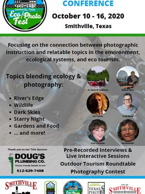 The Eco/Photo Fest is ongoing virtually in Smithville Oct. 10-16.