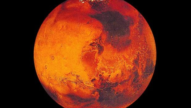 The red planet, Mars