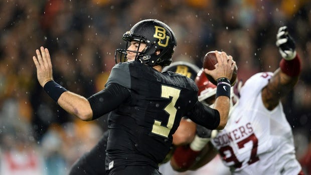 Former Baylor quarterback Jarrett Stidham verbally committed to the Auburn football program on Dec. 10, 2016. Stidham is widely regarded as the No. 1 junior college quarterback prospect in the 2017 recruiting class.