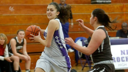 New Rochelle defeats Clarkstown South, 63-60, in girls