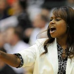 Natchez coach Alphaka Moore led the Lady Bulldogs to the Class 5A championship. Chris Todd/Special to The Clarion-Ledger