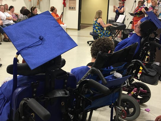 Picollo School, the only Washoe County school for children with disabilities, has an annual graduation ceremony.