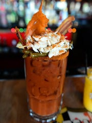 Crab Cake Factory's bloody mary on Friday, Dec. 23,