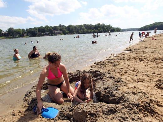 Too toxic to swim: Lake Macbride cautions visitors against