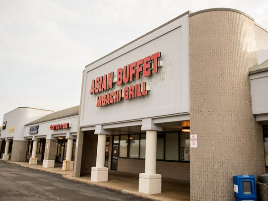 A new exterior sign at Asian Buffet Hibachi Grill in Battle Creek. It is the former location of Old Country Buffet, which closed there last year.