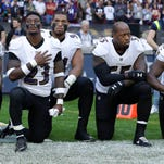 NFL player protests sweep league after President Donald Trump's hostile remarks