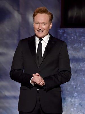 Conan O'Brien honored Steve Martin at his AFI Life Achievement Award gala on June 4.