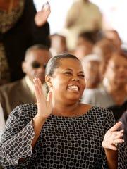 Staunton-born Sandra Cassell, now a resident of Greensboro,