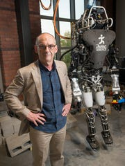 Ken Ford, co-founder and CEO of the Institute for Human & Machine Cognition, stands for a photo on Wednesday, March 22, 2017.