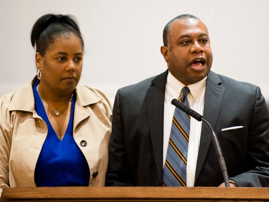 Carey Owens Jr. and his wife, Dawn, speak about removing