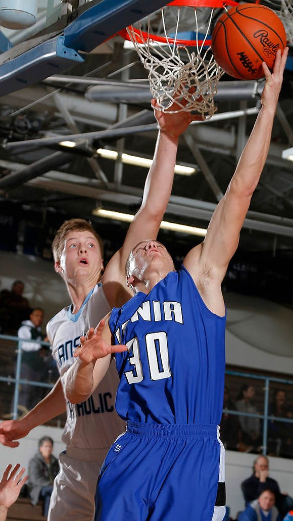 Ionia's Austin Gregory, shown in  a game last month,