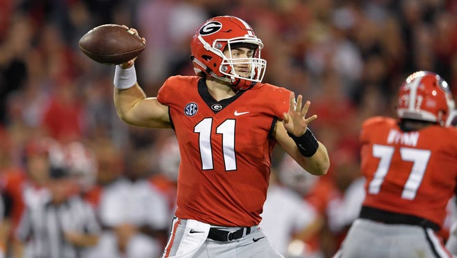 Georgia Bulldogs quarterback Jake Fromm.
