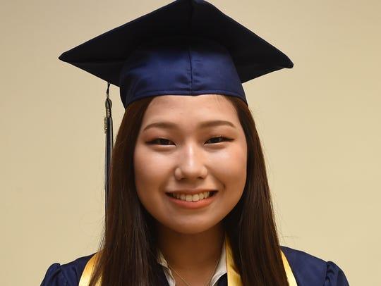 Harvest Christian Academy Salutatorian Sohwi Jung,