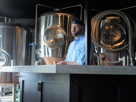 "Jeff ""Puff"" Irvin talks about his love for beer and his eagerness to open Black Mountain Brewing with partners John Richardson and Matt Schwarz."