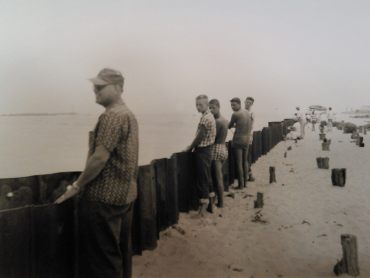 A view of the Indian River Inlet in 1955.