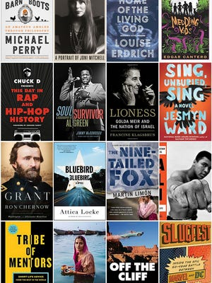 A selection of new books for holiday gift-giving in 2017.
