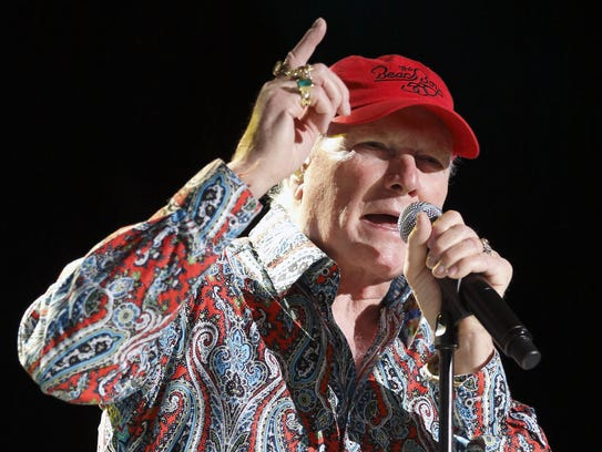 In this June 26, 2012, file photo, Mike Love performs