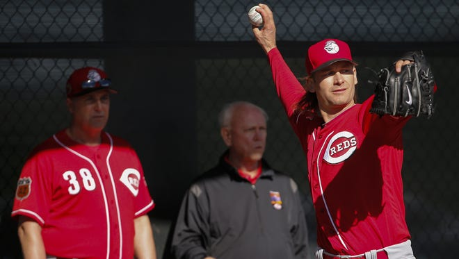 """""""I'm still alive in the game. I did it all. I won a World Series, I was an All Star. I got a Gold Glove. I was a helluva teammate,"""" Bronson Arroyo said of his career."""