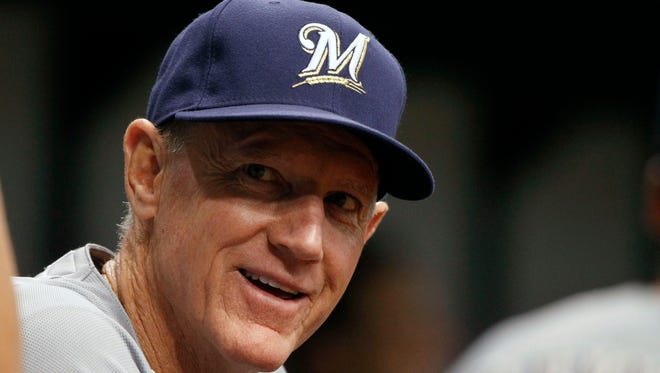 Former Milwaukee Brewers manager Ron Roenicke will now coach third base for the Los Angeles Dodgers