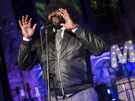 Singer Gregory Porter brings his jazzy voice to the Music Hall Center for the Performing Arts on Sunday.