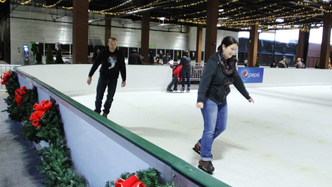 Residents glided on ice this weekend at the Centre of Tallahassee (formerly Tallahassee Mall). The rink will be open throughout the holiday season. It is part of a massive remodel of the facility that includes new spaces and services for clients.