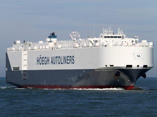 Norwegian ship St. Petersburg