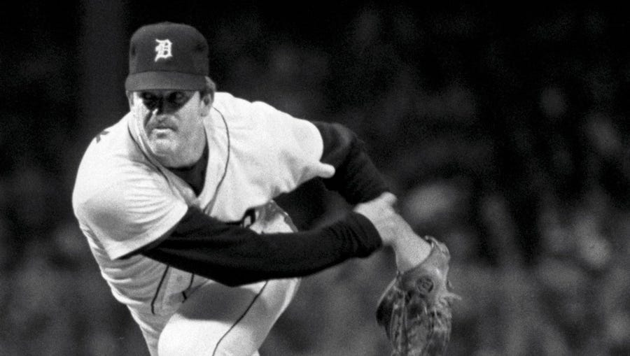 Milt Wilcox's win in Game 3 of the 1984 World Series gave the Tigers a 2-1 series lead they'd never relinquish.