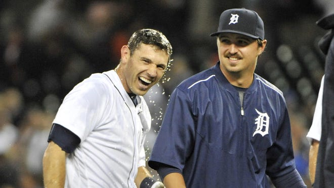 Ian Kinsler has earned a reputation as a fierce competitor and a winner during his time with the Tigers.