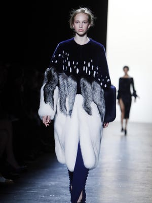 The Prabal Gurung Fall 2016 collection is modeled during Fashion Week, Sunday in New York.