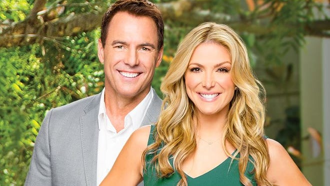 Mark Steines and Debbie Matenopoulos.