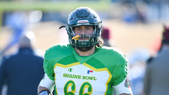 Reynolds' Jacob Setterlind was one of five WNC players to compete in the Shrine Bowl Saturday.